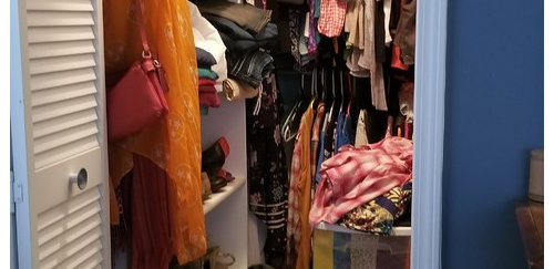 I Need To Be Able To Hang Up Dresses Which Currently Have To Be In A  Different Closet. I Would Also Like To Have Space For Shoes.