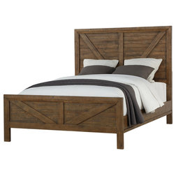 Rustic Panel Beds by Emerald Home