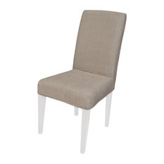 elk group couture covers parsons chair cover light brown slipcovers and chair