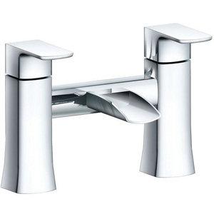 Zeno Bath Mixer Tap, Chrome, Bath Filler Tap