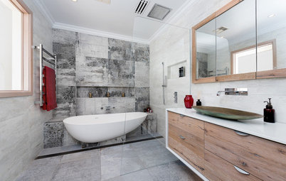 8 Reasons to Choose a Partially Freestanding Bathtub