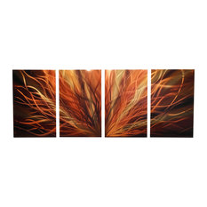 Metal Wall Art Abstract Sculpture By Miles Shay 4