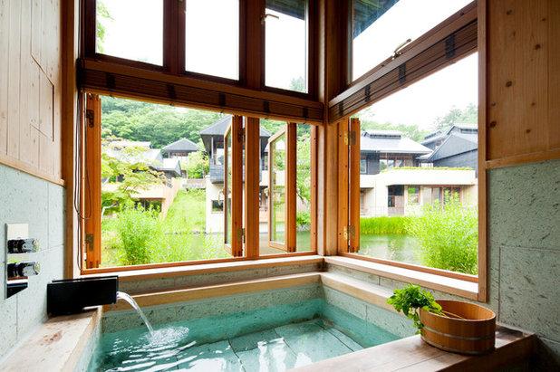 Vasca Da Bagno Stile Giapponese : Come realizzare un bagno in stile zen copiandolo dai giapponesi