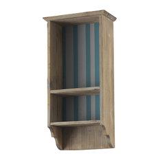 Natural Wooden Wall Shelf, Straight