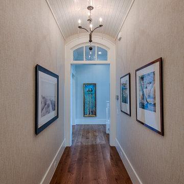 Barrel Hallway Ceiling