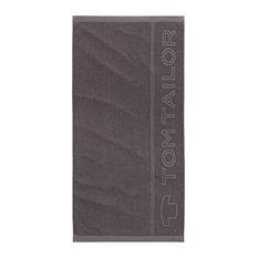 Tom Tailor Beach Towel, Dark Grey