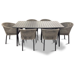 Tropical Outdoor Dining Sets by Courtyard Casual