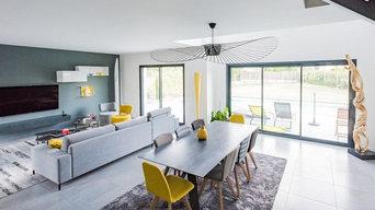 maison contemporaine décoration design