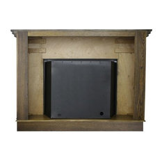 Us Stove AG34MK-O Mantle Kit, Light Oak, AGVF340
