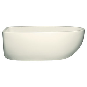 Contura III 6032 Tub Only Matte Finish, Airbath 2 With Integral Drain, Biscuit