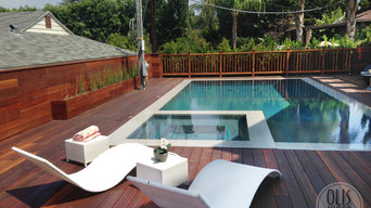 Encino Pool Deck, Railing & Fence