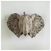 Uttermost Kandula Aged Bronze Elephant Head