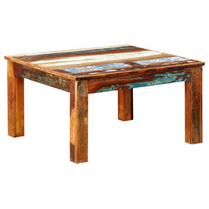 VidaXL Reclaimed Wood Coffee Table Square