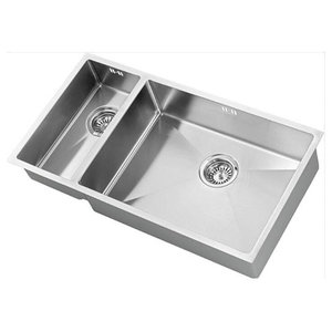 Zenduo Sink 15 200/550U Stainless Steel, BBR