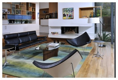 Midcentury Living Room by Rove Concepts