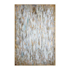"""Oversize 73"""" Abstract Canvas Wall Art 