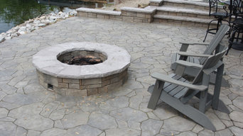 Lakeside Patio & Fire Pit