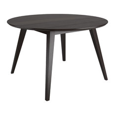 Corliving Atwood 47-inch Round Cappuccino Stained Dining Table