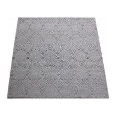 Square 11'x11' Tahala Touareg Trail, Carpet Rug, Textured Loop