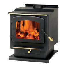 Summers Heat Free Standing Wood Burning Stove, 2.200 sq. ft.