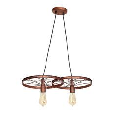 Pendant 2-Light, Copper