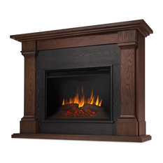 Callaway Electric Fireplace, Chestnut Oak