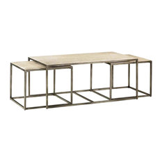 hammary furniture 3piece nesting cocktail table coffee tables