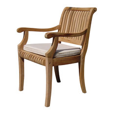 Teak Deals   Giva Arm Chair   Outdoor Teak   Outdoor Dining Chairs