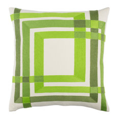 Color Form Pillow 18x18x4, Down Fill