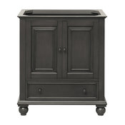 "Avanity Thompson 30"" Vanity Only, Charcoal Glaze Finish"