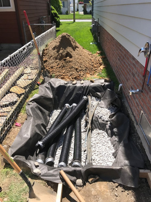 Outdoor Shower Drainage Issue, Outdoor Shower Drainage Pans