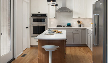 Kitchen of the Week: Multigenerational Layout in 125 Square Feet