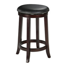 Hawthorne Collection 29-inch Bar Stool In Espresso (Set Of 2)
