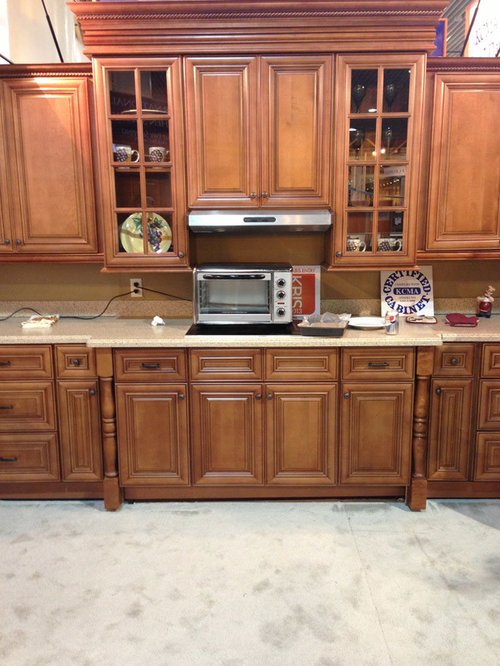 Chestnut Pillow Kitchen Cabinets | Kitchen Cabinet Kings   Kitchen Cabinetry