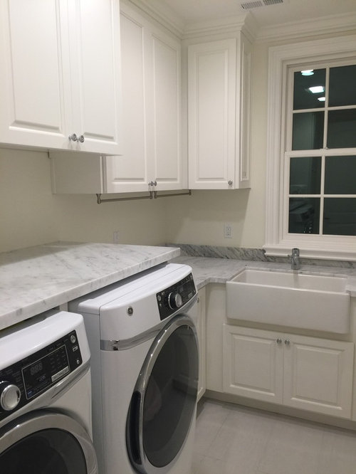 Laundry Countertop Materials : ... Laundry Room Design Ideas, Remodels & Photos with Marble Countertops