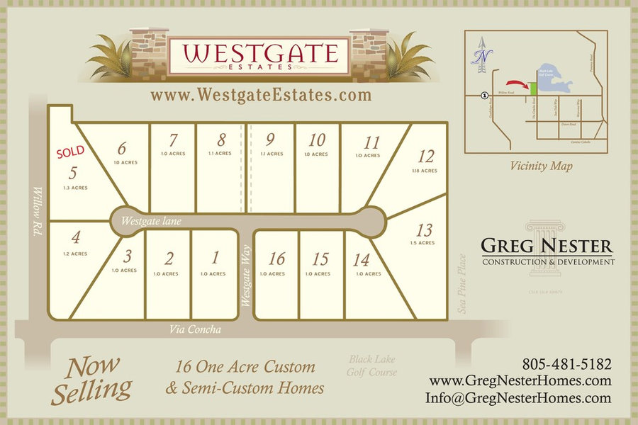 Westgate Estates - Arroyo Grande, CA