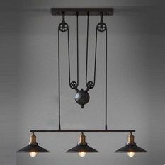 Shop industrial pendant lights on houzz barn industrial pendant light pendant lighting aloadofball Image collections