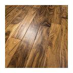 "5""x1/2"" Acacia Hand Scraped Prefinished Engineered Wood Floor, 1 Box"