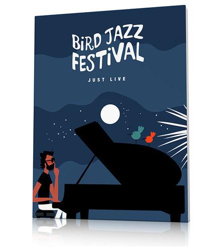 Affiche festival de jazz - Imprimé et Poster