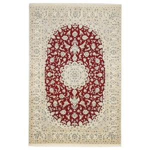 Nain 9La Oriental Rug, Hand-Knotted, 306x200 cm