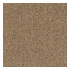 "Ridgeline 24""x24"" Self-Adhesive Carpet Tiles, Chestnut"