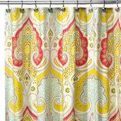 Echo Design™ Jaipur Fabric Shower Curtain