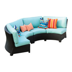 Valencia Curved Sectional