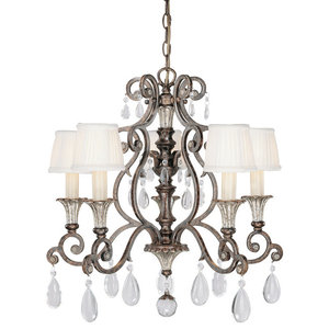 Savoy House Europe Versailles Chandelier, 5 Lights