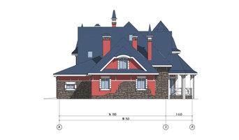 Архитектурное проектирование. Дом из сибита