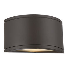 50 most popular transitional bronze outdoor flush mount wall lights wac lighting tube led indoor or outdoor half cylinder up and down wall light aloadofball Images
