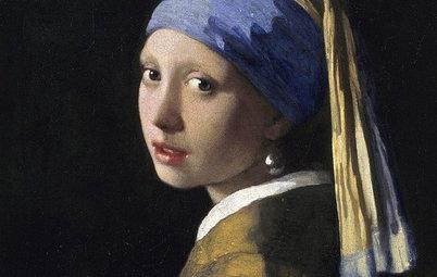 Große Kunst: Wohnen, wie in einem Bild von Jan Vermeer van Delft
