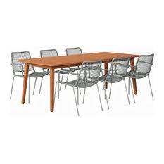 Amazonia Bexar Patio Dining Set, 7-Piece