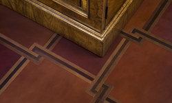 Malinard Manor - Leather FLoor Detail