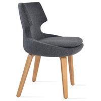 Plywood Chair, Dark Gray